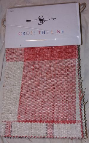 Fabric Sample Book: Stout. Cross The Line. Book #1415 for Sale in Seattle, WA