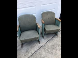 Antique Theater Project Chairs for Sale in Portland, OR