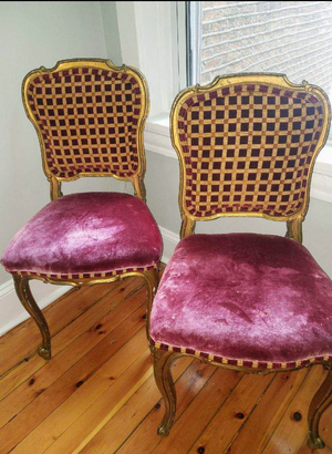 Antique Chairs: Dining or Living room for Sale in Chicago, IL