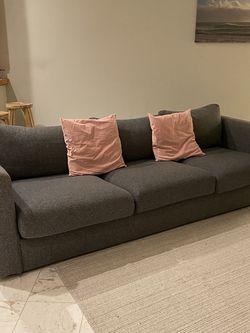 Sofa, Gunnared medium gray for Sale in Renton,  WA