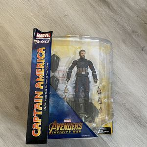 Marvel Select Avengers: Infinity War - Captain America Action Figure New ! for Sale in Las Vegas, NV