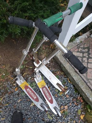 Yaak and razor scooters for Sale in Falmouth, ME