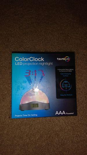 Tzumi Color Clock Projector for Sale in Destin, FL