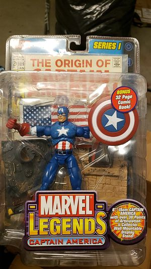 Marvel Legends 616 Captain America for Sale in Alameda, CA