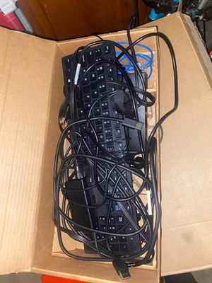 Dual dell monitors and keyboard for sale. Best offer for Sale in Phoenix, AZ