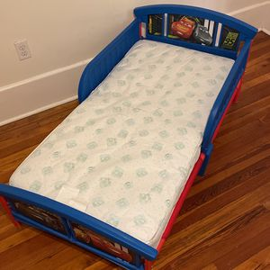 Cars Toddler Bed for Sale in St. Petersburg, FL