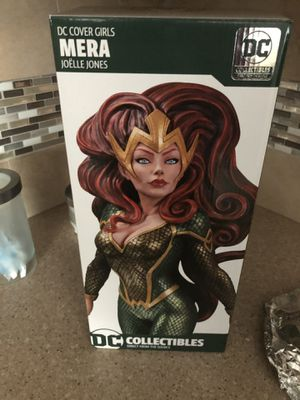 DC comics Mera Statue designed by Joelle Jones Aquaman cover girls for Sale in Pennsauken Township, NJ