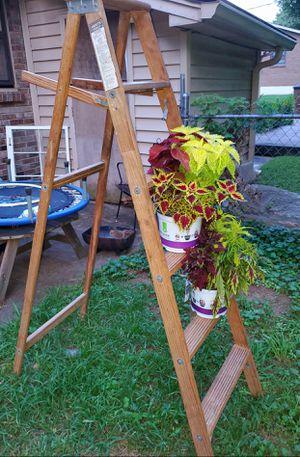 6ft wooden ladder for Sale in Nashville, TN