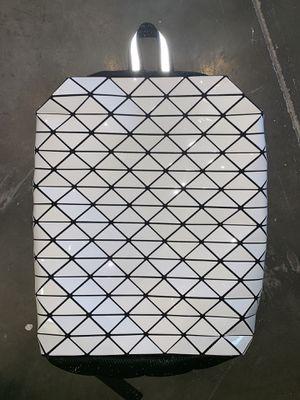 White geometric backpack for Sale in Richmond, VA