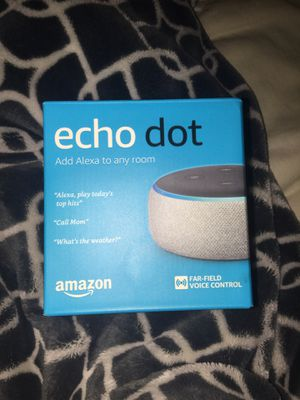 Amazon Echo Dot for Sale in Silver Spring, MD