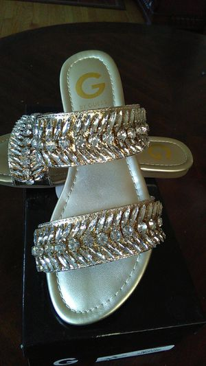 Guess golden slipper brand new still in the box for Sale in Dearborn, MI