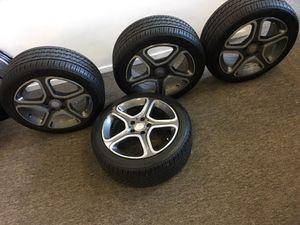 "17"" Mercedes-Benz wheels and tires , tires like new Bridgestone 225 45 17 for Sale in Atlanta, GA"