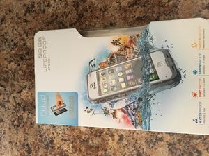 iPhone 5 waterproof life proof case for Sale in Miami, FL