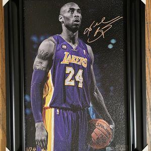 Kobe Bryant REPRINT Wall Decor 21.5x15.5 Inches for Sale in Oxnard, CA