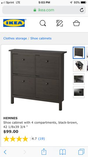 IKEA Shoe Organizer for Sale in Knoxville, TN