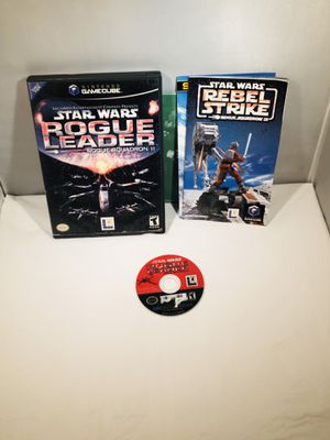Star Wars rogue squadron leader 2 Nintendo GameCube for Sale in Long Beach, CA