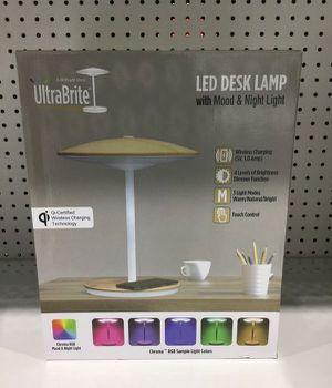 UltraBrite Desk Lamp LED Lampará Mesa Escritorio Multicolor Wireless Charger -1320991 for Sale in Miami, FL