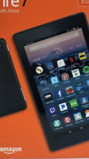 Kindle fire 7 with case brand new never opened for Sale in San Antonio, TX