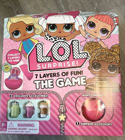 Lol Surprise 7 Layers Of Fun TheGame for Sale in Patterson,  CA