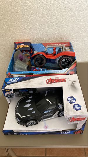 Spider-Man and Black Panther R/C New for Sale in Tucson, AZ