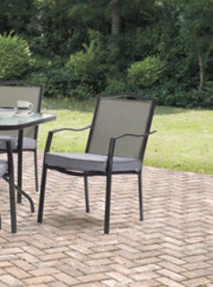 New!! Outdoor dinning chair, patio chair, outdoor furniture, patio dinning chair, set of 6 for Sale in Phoenix, AZ