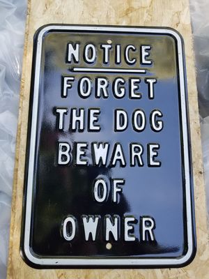 Metal sign brand new for Sale in Westmanland, ME