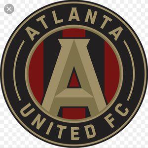 Atlanta United fc season passes {4} for Sale in Atlanta, GA