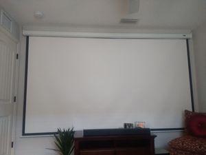 """135"""" Projector Screen for Sale in Bradenton, FL"""