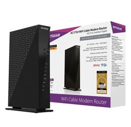 NETGEAR - Dual-Band AC1750 Router with 16 x 4 DOCSIS 3.0 Cable Modem for Sale in Los Angeles,  CA