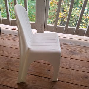 Kids chair white color for Sale in Herndon, VA