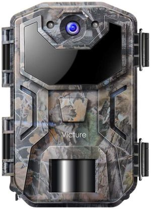 New Victure Trail Game Camera 20MP 1080P Full HD with Night Vision Motion Activated Waterproof IP66 Wildlife Trap Camera No Glow Infrared with for Hu for Sale in Chino, CA
