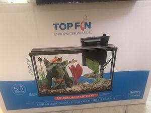 Aquarium 5.5 gallon for Sale in Portland, OR