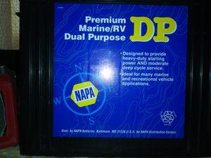 Napa Deep Cell battery premium marine RV dual purpose for Sale in Montgomery, AL