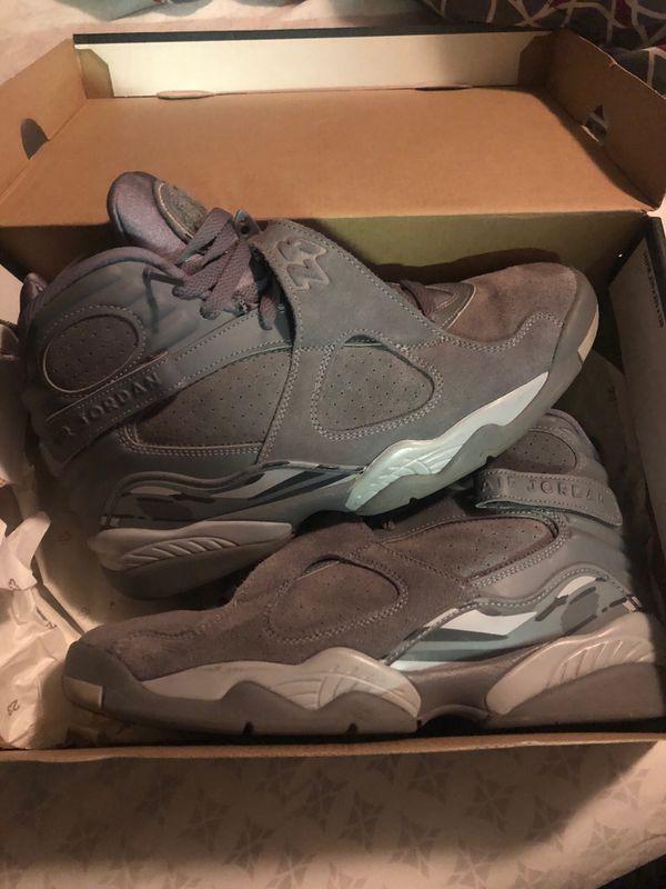 Jordan Cool Grey 8s