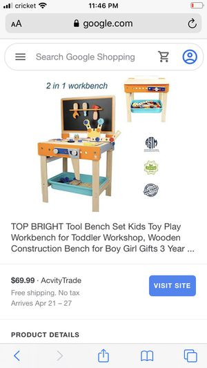 Workbench and desk for toddlers for Sale in Chicago, IL