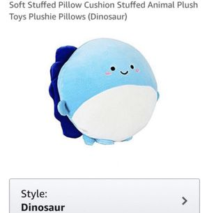 Large Soft Stuffed Plushie Pillow New for Sale in Lewisville, TX