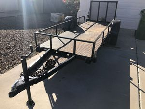 Flatbed Utility trailer, steel deck!!! for Sale in Chandler, AZ