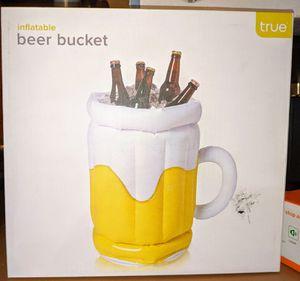 New True Inflatable Beer Bucket 12 pack cooler for Sale in DeLand, FL