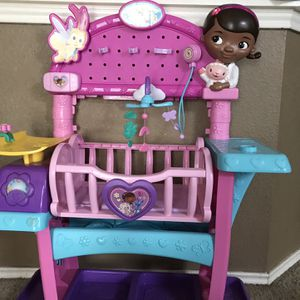 Doc McStuffins Baby Nursery for Sale in Austin, TX