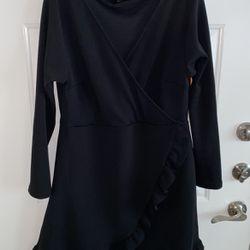 Black Ruffled Dress for Sale in Dallas,  TX