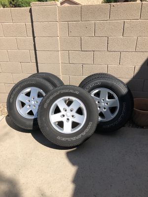 Jeep Wrangler Wheels and Tires for Sale in Chandler, AZ