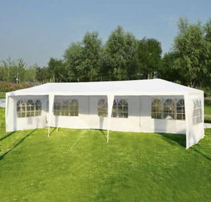 10'x30' White Outdoor Gazebo Canopy Wedding Party Tent 8 Removable Window Walls for Sale in Federal Way, WA