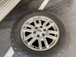rims with tires three of them for trade for RV tires and rims size 15 inch for Sale in Las Vegas, NV