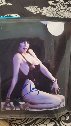 Elvira Print of signed photo...not actually signed for Sale in Baldwin Park, CA