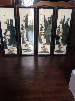4 beautiful Asian wall art for Sale in Grayson, GA
