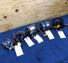 ROCK COD REELS .............penn,Diawa , SHIMANO , Seeker for Sale in Fullerton,  CA