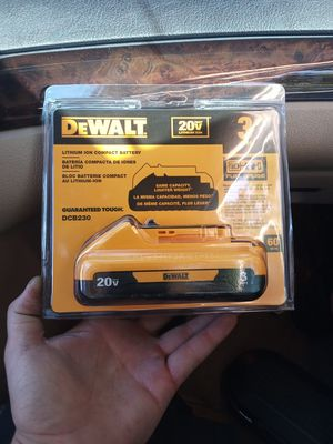20v 3ah DeWalt power tool battery brand new in the package for Sale in Eugene, OR