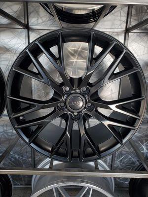 Satin black 19x8.5 and 20x10 Corvette wheels fits c6 and c7 stingray z51 rim wheel tire shop for Sale in Tempe, AZ