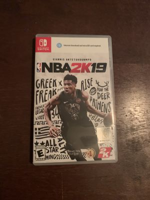 Nba2k19 for Nintendo switch for Sale in Rex, GA