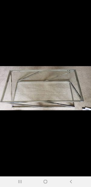 Stylish 3pc coffee table for Sale in Tampa, FL